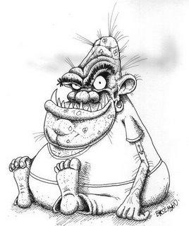 ugly troll women