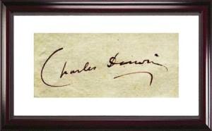 darwin's signature
