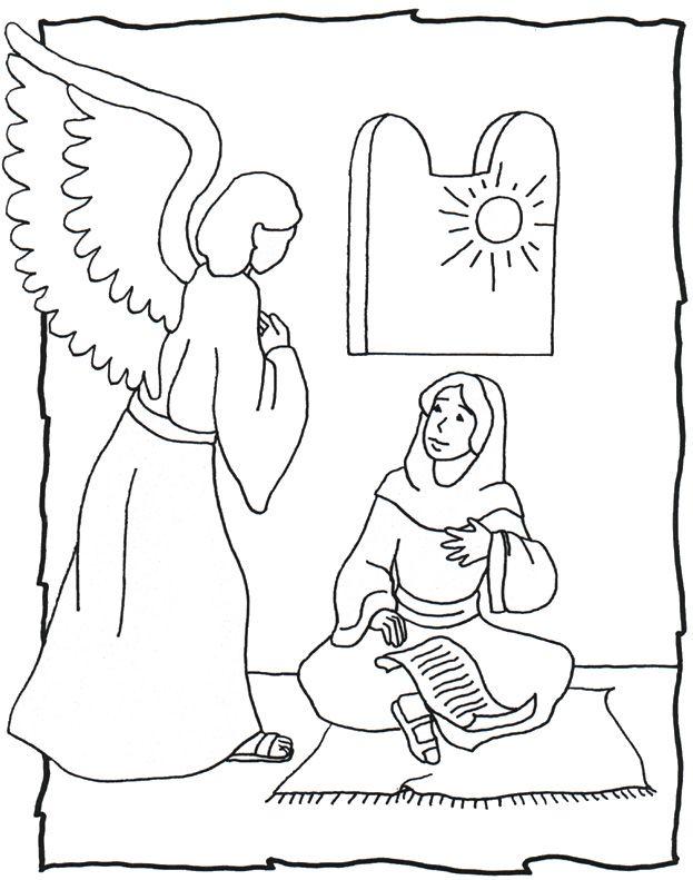 Angel Gabriel And Mary Triangulations