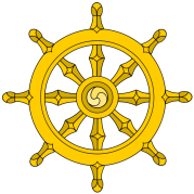 The Buddhist Dharma Wheel