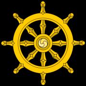 The Buddhist Dharma Wheel