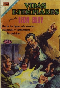 Mexican comic book biography of Léon Bloy intended for the moral education of youth by the Catholic Church. (source)