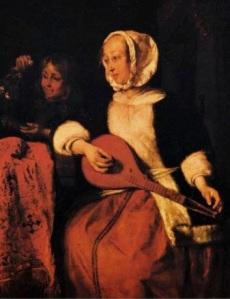 woman-playing-a-mandolin