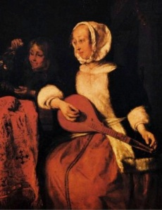 woman-playing-a-mandolin