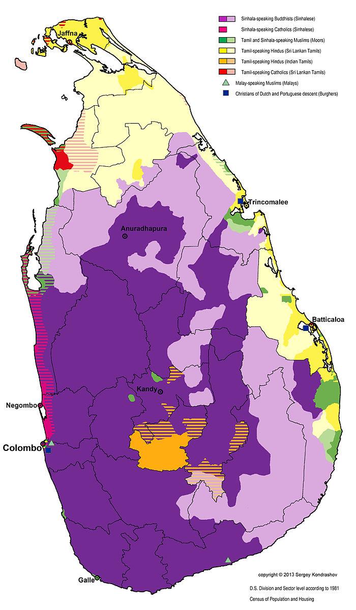 Source wiki sri lanka sri lanka languages along with map