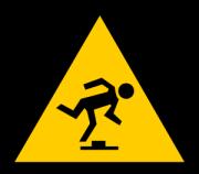 man-stumbling