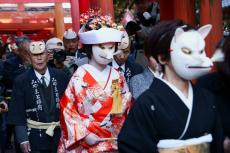 fox-wedding-parade