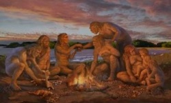 prehistoric-campfire